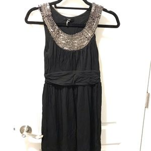 Tart beaded blank jersey dress